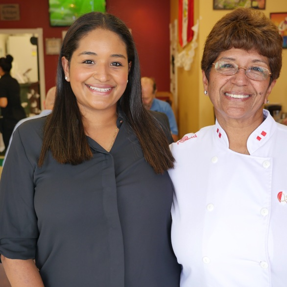 Maria and Carmen Rivero (Mother and Daughter)